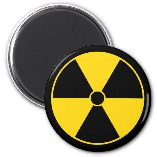 Radiation Symbol Magnet
