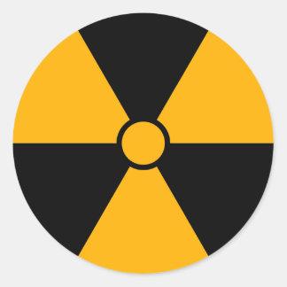 Radiation Symbol Sticker Stickers