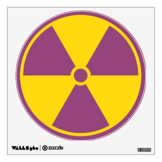 Radiation Symbol Wall Sticker