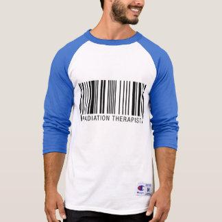 Radiation Therapist Barcode T-Shirt