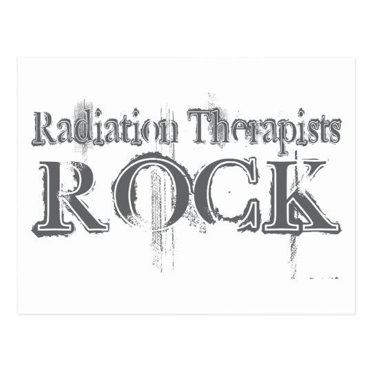 Radiation Therapists Rock Postcard