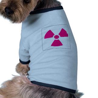Radiation Trefoil Sign Symbol Warning Sign Symbol Pet Tee