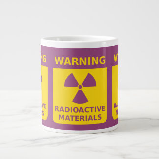 Radiation Warning Jumbo Mug