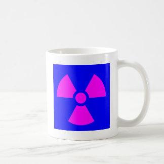 Radiation Warning Symbol Coffee Mug