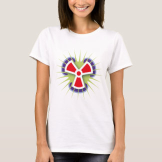 radiation-(White) T-Shirt