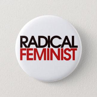 Radical Feminist 2 Inch Round Button
