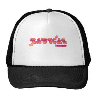 Radical feminist trucker hat