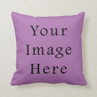 Radient Orchid Violet Light Purple Color Template Pillows