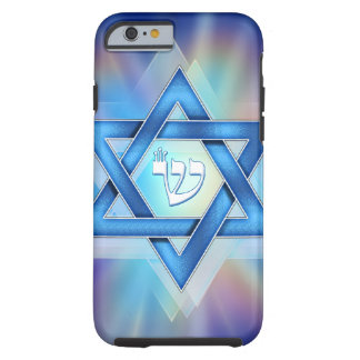 Radient Star of David Tough iPhone 6 Case