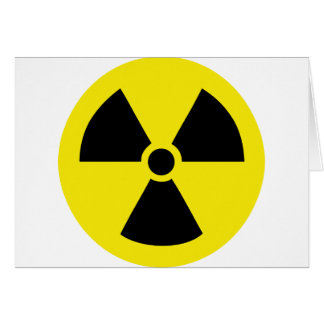 radio active atom energy card