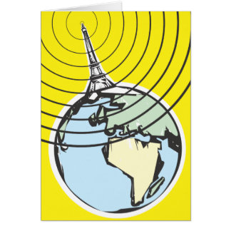 Radio Broadcast Earth Card