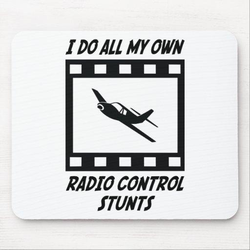 Radio Control Stunts Mouse Mat