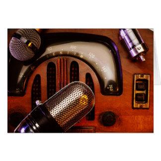 Radio Days Card