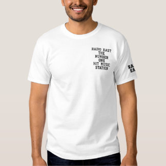 Radio East Embroidery Embroidered T-Shirt