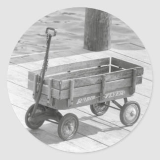 Radio Flyer Wagon Sticker
