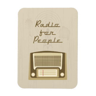 Radio for people magnet