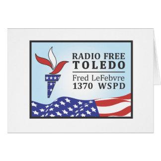 Radio Free Fred Card