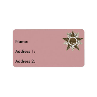 Radio in Star Address Label