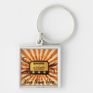 Radio Keychain w/ your name on it!