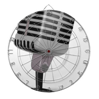 Radio Microphone Dartboard
