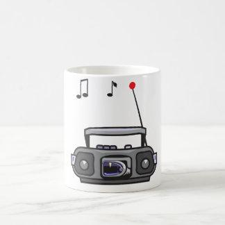 Radio Playing Music Mug