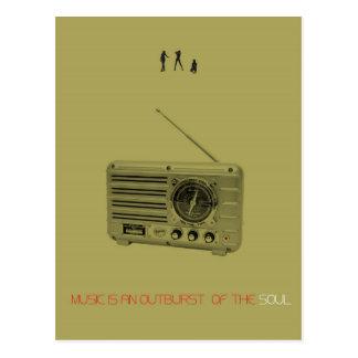 Radio Postcard
