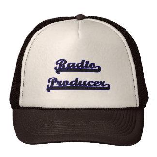 Radio Producer Classic Job Design Trucker Hat