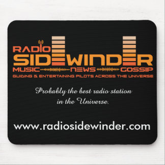 Radio Sidewinder Mouse Pad