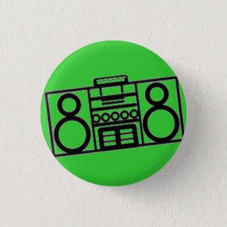 Radio star 1 inch round button