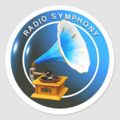Radio Symphony Sticker
