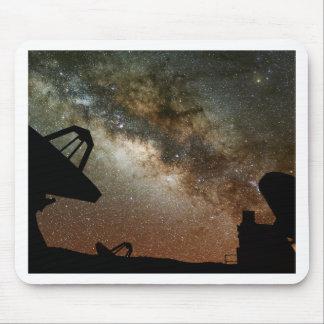 Radio Telescopes and Milky Way Mouse Pad