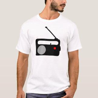 RADIO TRANSISTOR BLACK SYMBOL T-Shirt