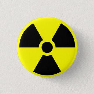 Radioactive 1 Inch Round Button