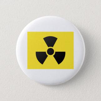 radioactive 2 inch round button