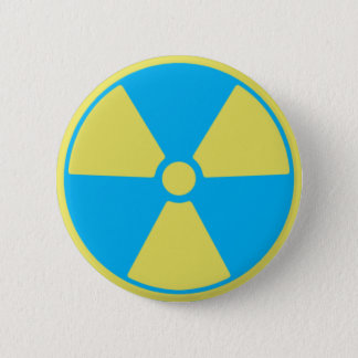 Radioactive 2 Inch Round Button
