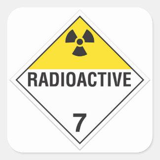 Radioactive 7 Sticker