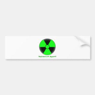 Radioactive Apparel Bumper Sticker