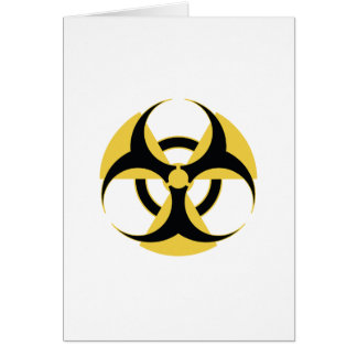 Radioactive Biohazard Card