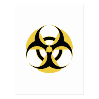 Radioactive Biohazard Postcard