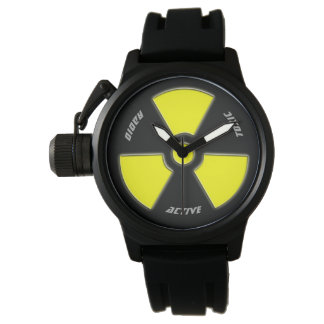 """""""Radioactive"""" design for the brave. Watch"""