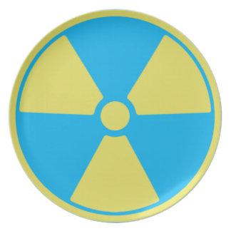 Radioactive Dinner Plate