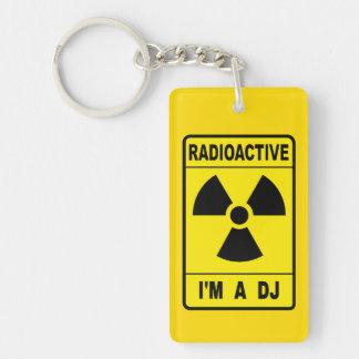 Radioactive DJ Keychain