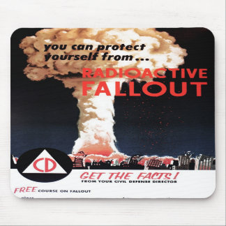 """Radioactive Fallout"" Mousepad"