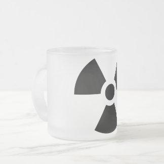 Radioactive Frosted Glass Coffee Mug