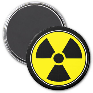 Radioactive Funny Magnet Humor