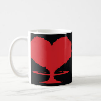 Radioactive Heart Coffee Mug