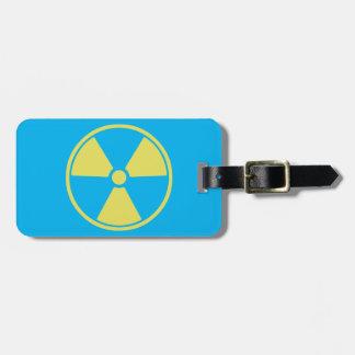 Radioactive Luggage Tag