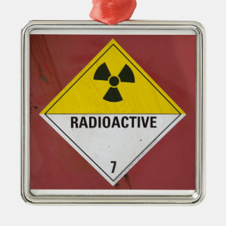 Radioactive Metal Ornament
