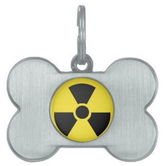 Radioactive Pet ID Tag