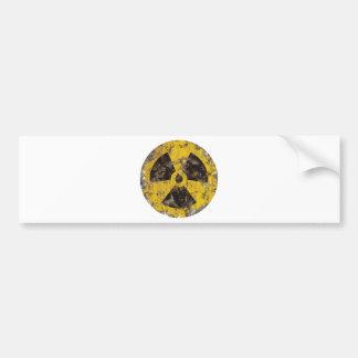 Radioactive Rusted Bumper Sticker